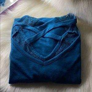 Dark turquoise shirt!